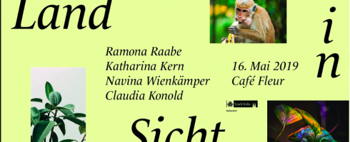 """""""Land in Sicht"""", Lesung am 16.05. in Köln"""